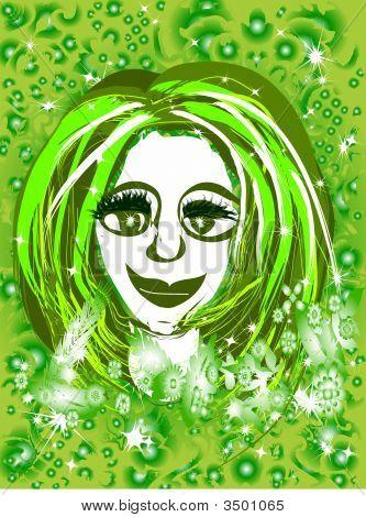 Daisy Green Girl