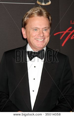 LAS VEGAS - JUN 19:  Pat Sajak arriving at the 38th Daytime Emmy Awards at Hilton Hotel & Casino on June 19, 2010 in Las Vegas, NV.