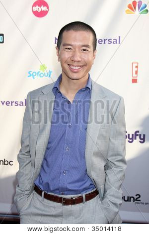 LOS ANGELES - AUG 1:  Reggie Lee arriving at the NBC TCA Summer 2011 All Star Party at SLS Hotel on August 1, 2011 in Los Angeles, CA