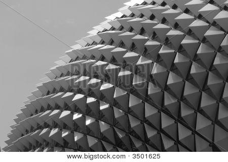 Esplanade Opera Building In Singapore