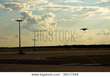 Airplane takeoff