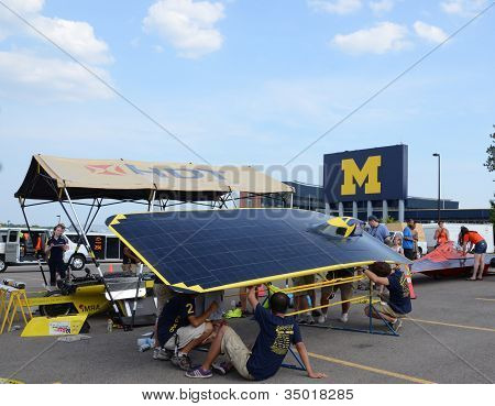 University Of Michigan Solar Car Team
