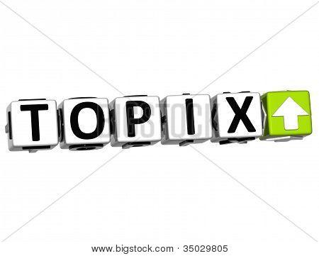 3D Topix Button Click Here Block Text