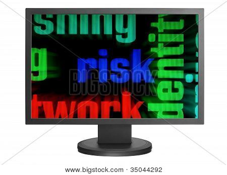 Web Risk Concept