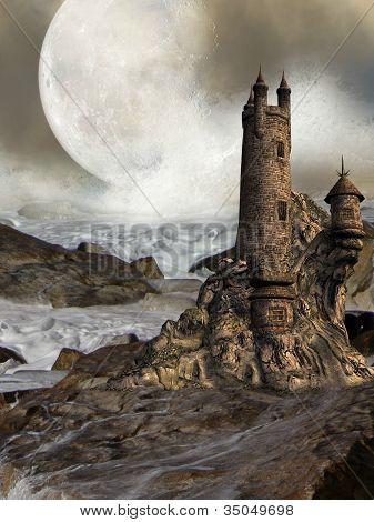 fantastische Burg