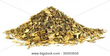 Green tea with lemon grass