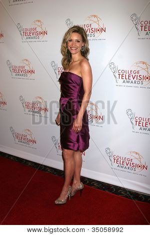 LOS ANGELES - APR 9:  KaDee Strickland arriving at the 32nd Annual College Television Awards at Renaissance Hotel Hollywood  on April 9, 2011 in Los Angeles, CA