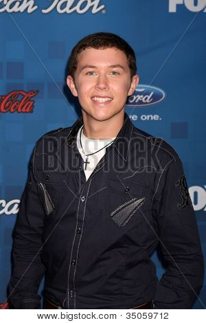 LOS ANGELES -  3: Scotty McCreery arrives at the American Idol Season 10 FInalists Party at The Grove on March 3, 2011 in Los Angeles, CA