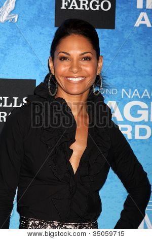 LOS ANGELES - FEB 12:  Salli Richardson-Whitfield arrives at the 2011 NAACP Image Awards Nominee Reception at Beverly Hills Hotel on February 12, 2011 in Beverly Hills, CA