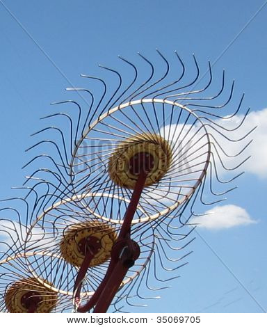 Industrial Sunflowers