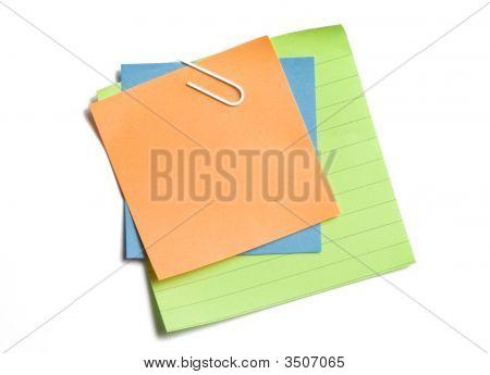 Clipped Sticky Notes