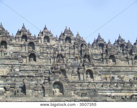 Indonesia'S Borobudur Temple In Java