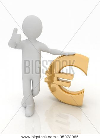 3d man rely on euro
