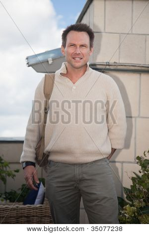 MOSCOW, RUSSIA, JULY, 18: Actor  Christian Slater. Premiere of the  movie