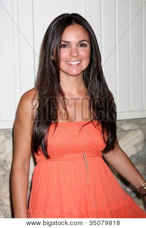 LOS ANGELES - JUL 21:  Rebeka Montoya arrives at the 2012 General Hospital Fan Club Luncheon at Sportsman's Lodge  on July 21, 2012 in Studo City, CA