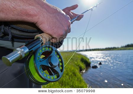 Fisherman Fly Rod and Reel
