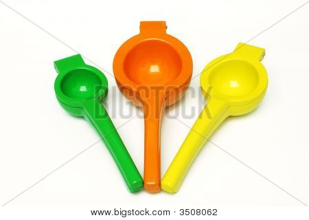 Citrus Fruit Squeezers