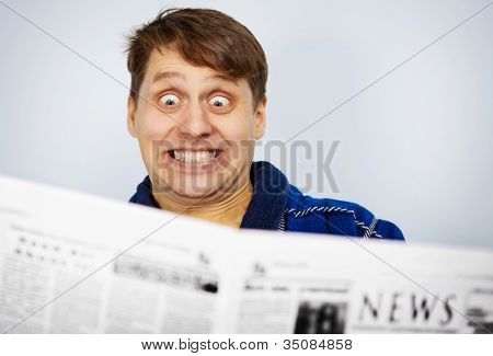 Man Shocked By News