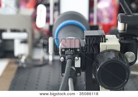 Camera inspection control
