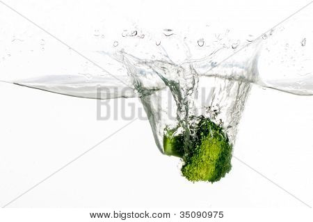 Broccoli In Water