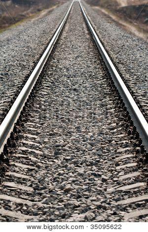 Journey travel transportation track train railroad