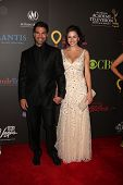 LAS VEGAS - JUN 19:  Jordi Vilasuso, Kaitlin Riley arriving at the  38th Daytime Emmy Awards at Hilt