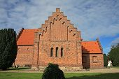 pic of bing  - traditional brick church in Nyk - JPG