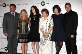 LOS ANGELES - JUL 21:  Hugh Bonneville,  Froggatt, Michelle Dockery, Shirley MacLaine, McGovern,  Co