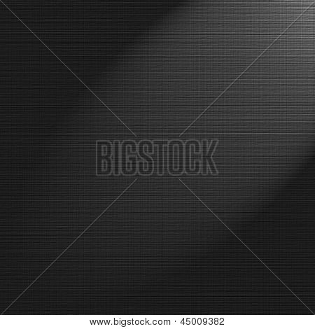Black scratched grunge canvas background or texture