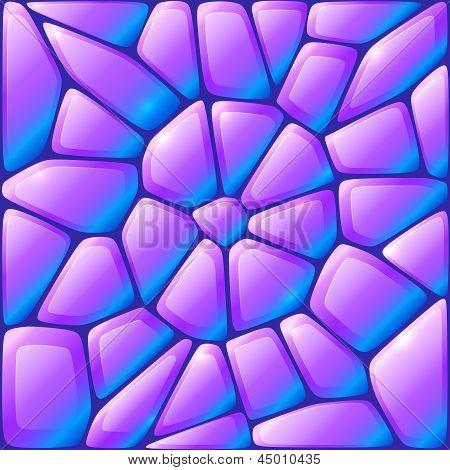 Glance violet vector rocks seamless pattern