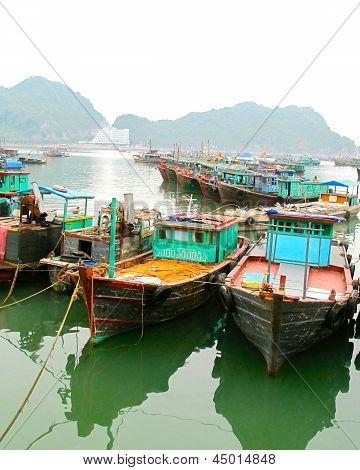 Cat Ba Island and its Fishermen