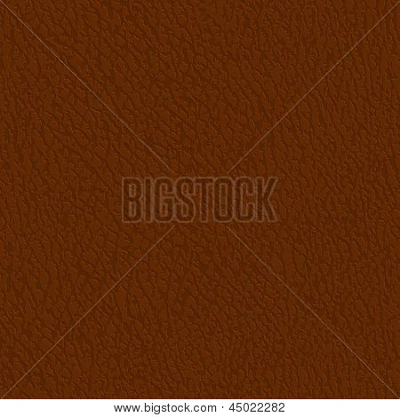 Seamless leather texture - eps10