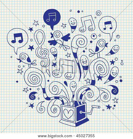 music box doodle