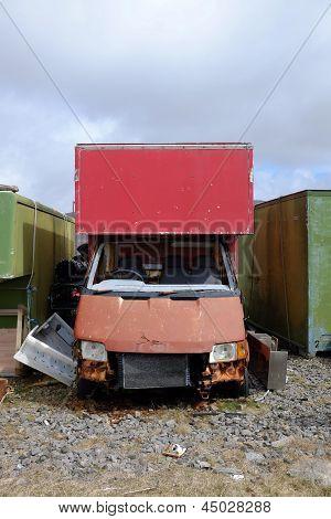Scrap Vehicle.