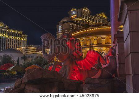 Las Vegas - August 3: Las Vegas Strip View On August 3, 2007 In Las Vegas. The Las Vegas Strip Is An