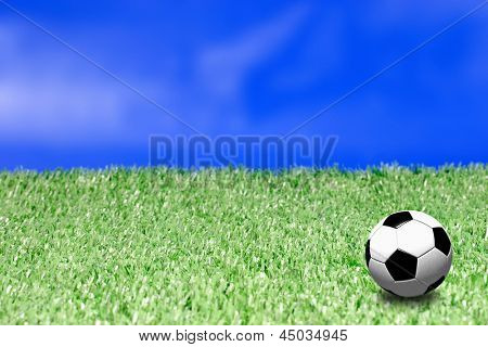 Photo of Field and ball