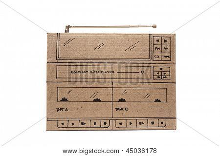 Photo of Cardboard stereo