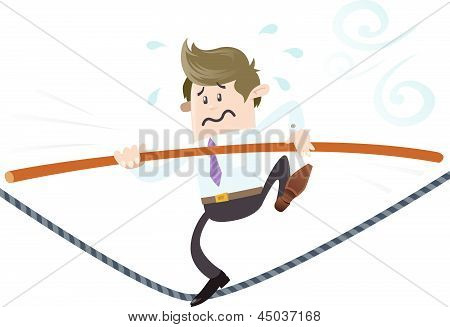 Business Buddy On A Wire