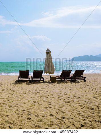 City Beach. Vietnam. Nha Trang.