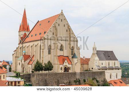 Znojmo, Czech Republic - Church Of St. Nicholas And St. Wenceslas Chapel