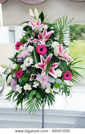 Wedding Flowers At Ceremony
