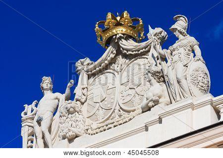 Vienna - Entrance Portal Of Hofburg Palace