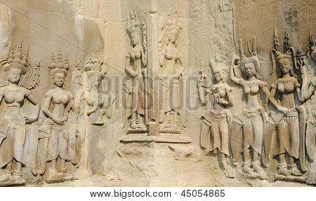 Low Relief In Angkor