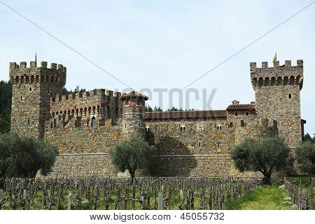 Castello di Amorosa Winery in Napa Valley