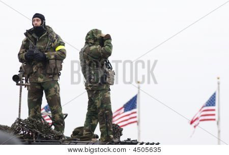 FBI Snipers no National Mall