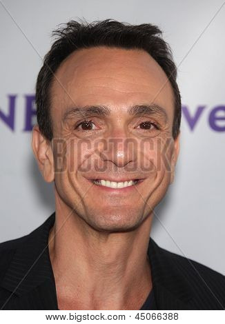 LOS ANGELES - AUG 11:  HANK AZARIA arriving to Summer TCA Party 2011 - NBC  on August 11, 2011 in Beverly Hills, CA