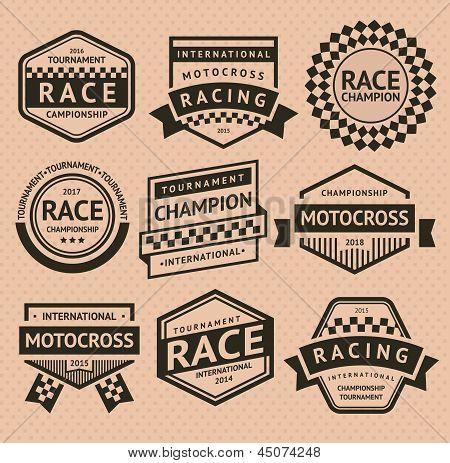 Racing insignia