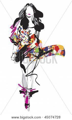 Artistic Fashion Sketches