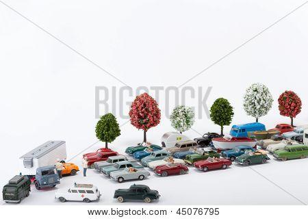 A Car Drove Under A Truck