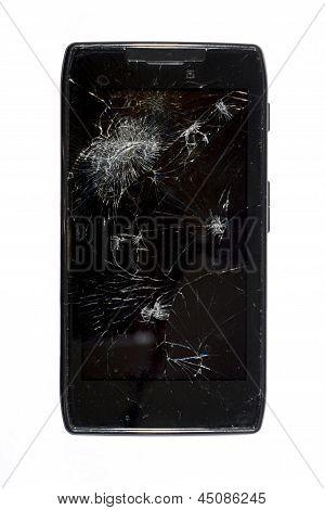 Shattered Smartphone